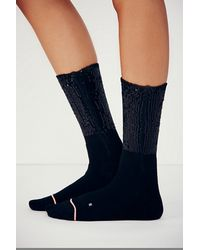 Free People Be-glam Crew Sock - Lyst