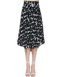 A.L.C. Corso Midi Skirt - Lyst