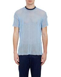 Longjourney - Mesh A-3 T-Shirt - Lyst