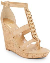 DV by Dolce Vita - Thadie Wedge Platform Sandals - Lyst