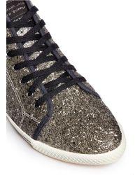 Marc By Marc Jacobs Coarse Glitter Sneakers - Lyst