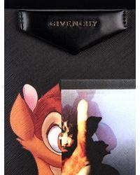 7169984070 Givenchy - Antigona Bambi-Print Coated-Canvas Tote - Lyst