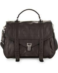 Proenza Schouler - Extra-large Buffalo Messenger Bag - Lyst
