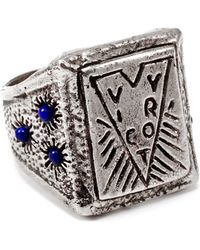 Lulu Frost - George Frost G. Frost Victory Lapis Ring - Sterling Silver - Lyst