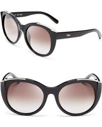Chloé - Dallia Sunglasses, 55mm - Lyst