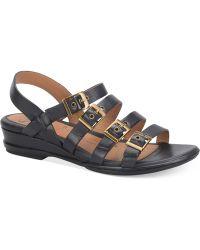 Söfft - Sapphire Flat Sandals - Lyst