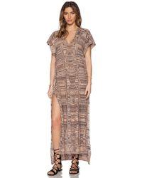 Goddis - Alisha Caftan Dress - Lyst