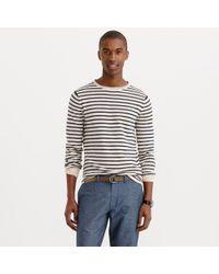 J.Crew Cotton Sweater In Nautical Stripe multicolor - Lyst