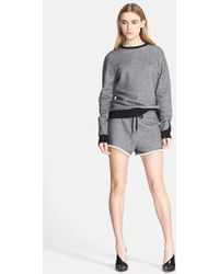 T By Alexander Wang 'Robust' French Terry Sweatshirt - Lyst
