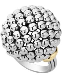 Lagos | Caviar Forever Large Dome Ring | Lyst