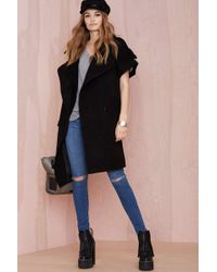 Nasty Gal By Its Cover Coat - Lyst