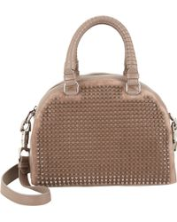 Christian Louboutin Spiked Panettone Satchel - Lyst