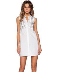 McQ by Alexander McQueen Studded Dress - Lyst