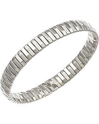 Chimento - 18k White Gold Armillas Collection Ridge Line Bracelet - Lyst