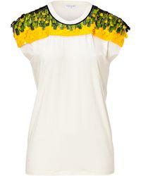 Vionnet Jersey Embellished T-shirt - Lyst