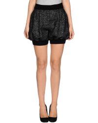 Dolce & Gabbana Black Bermuda - Lyst