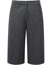 Pure Collection - Hamilton Wool Blend Culottes - Lyst