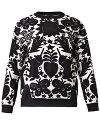 Alexander McQueen Naive Paganjacquard Sweater - Lyst