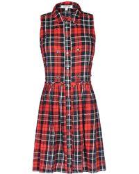 Elizabeth And James Short Dress - Lyst