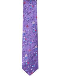 Duchamp Ornate Orchard Tie Jewel - Lyst