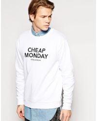 Cheap Monday Per Sweat - Lyst
