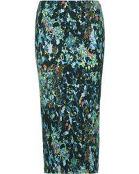 Topshop Animal Print Tube Skirt  Multi - Lyst