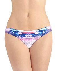 Seafolly Brightest On The Beach Swimsuit Bottom - Lyst