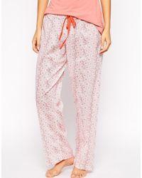 Elle Macpherson Papier Lounge Trousers - Lyst