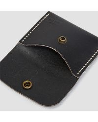 The Quality Mending Co. - Wallet Black - Lyst