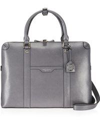 Henri Bendel - West 57th Metallic Briefcase - Lyst