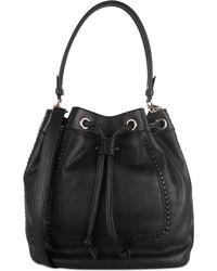 Cole Haan Nickson Drawstring Convertible Shoulder Bag black - Lyst