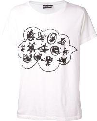 Jeremy Scott Martian Language Tshirt - Lyst