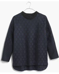 Madewell Mood Dot Pullover - Lyst