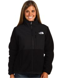 The North Face Black Denali Jacket - Lyst