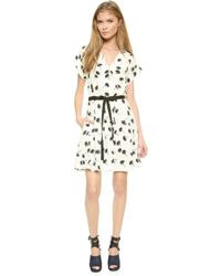 Band of Outsiders Polo Dress - Ivory - Lyst