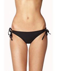 Forever 21 Sidetie Bikini Bottom - Lyst