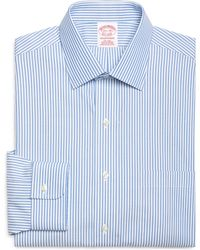 Brooks Brothers Non-Iron Milano Fit Ombre Stripe Dress Shirt - Lyst