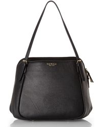Isaac Mizrahi New York - Black Claudette Shoulder Bag - Lyst