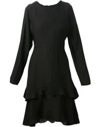 Chloé Black Layered Dress - Lyst