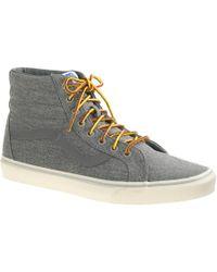 J.Crew - Men's Vans Sk8-hi Reissue Sneakers - Lyst
