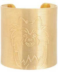 K Kane - 18k Gold-plated Pomeranian Dog Cuff - Lyst