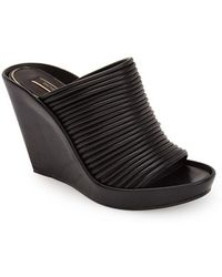 Rachel Zoe Women'S 'Keyla' Leather Wedge Sandal - Lyst