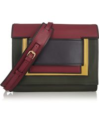 Pierre Hardy Color-block Leather Clutch - Lyst