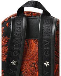 Givenchy - Paisley Printed Nylon Backpack - Lyst