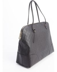 Gucci Black Bree Ssima Large Tote Bag - Lyst