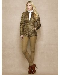 Ralph Lauren Blue Label Quilted Down Jacket - Lyst