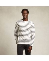 Todd Snyder X Champion Long Sleeved Striped Tee - Lyst