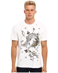 McQ by Alexander McQueen House Of Horrors Dropped Shoulder Tee - Lyst
