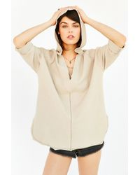 Ecote - Beach Comber Hooded Top - Lyst