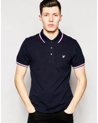 Lyle & Scott Lyle & Scott Polo With Tipping - Lyst